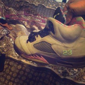 Bel air 5's Air Jordan's